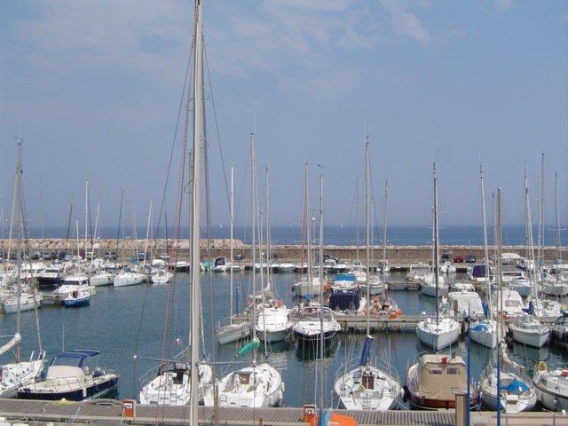 Location T3 vue mer Port de Bormes -La Favière