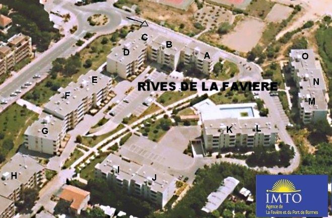 RIVES DE LA FAVIERE Studio Cabine BORMES LES MIMOSAS